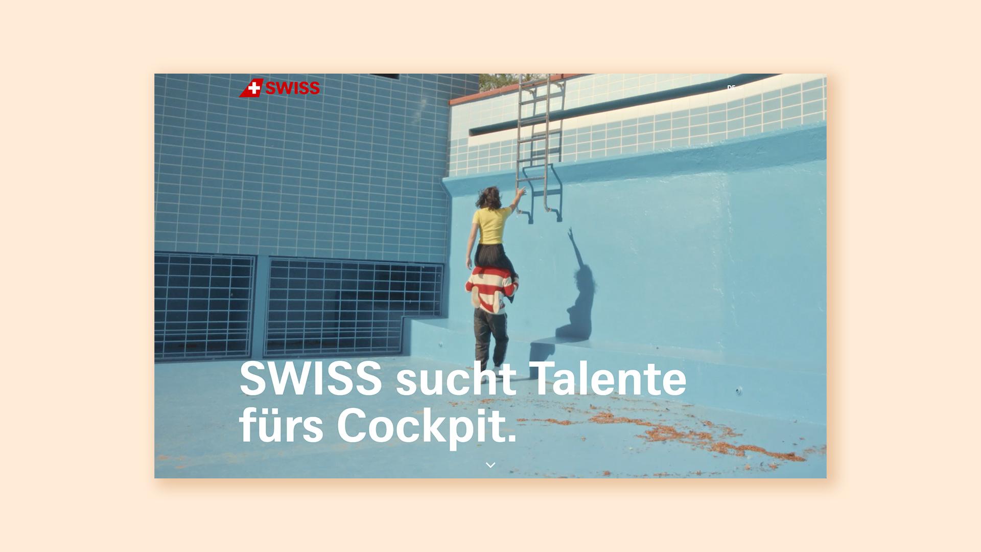 Swiss Pilot Recruitment Campaign
